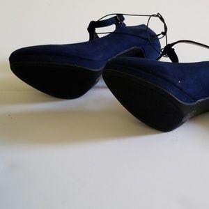 Worthington Shoes - Blue Suede Pumps